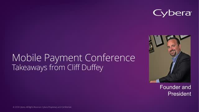 Top Takeaways from Mobile Payments Conference