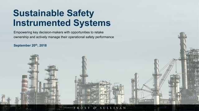 Driving Growth of Sustainable Safety Instrumented Systems