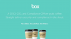 A CISO, CIO, and Compliance Officer Grab Coffee