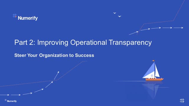 Charting IT Ops w/ Analytics Part 2: Operational Transparency