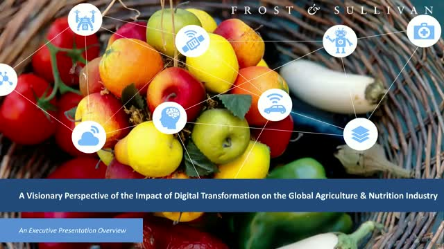 Impact of Digital Transformation on the Global Agriculture & Nutrition Industry