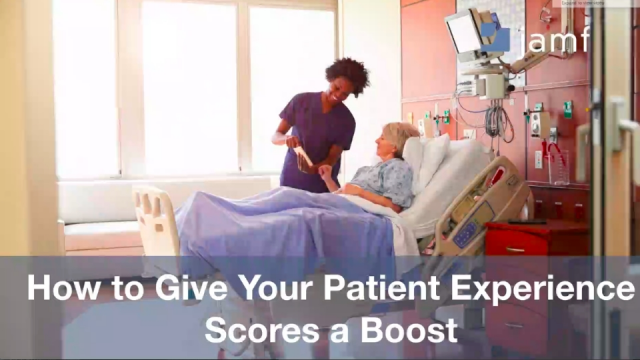 How to Give Your Patient Experience Scores a Boost