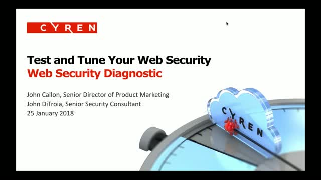 Is Your Web Security Working? How to Test and Tune Your Web Security