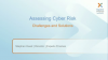 Rehearsal:  Assessing Cyber Risk - Challenges and Solutions