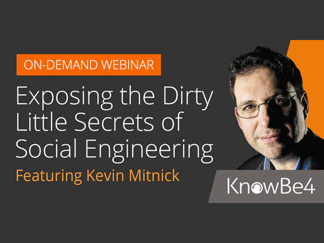 Kevin Mitnick Exposes the Dirty Little Secrets of Social Engineering