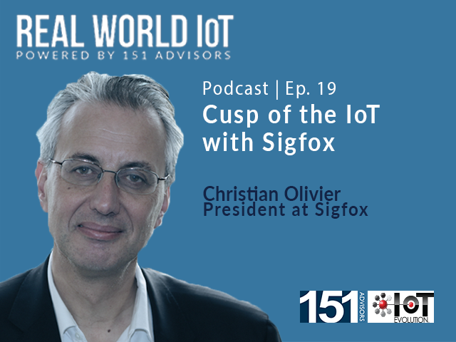 Real World IoT Podcast | Ep. 19 | ft Sigfox | Cusp of the IoT