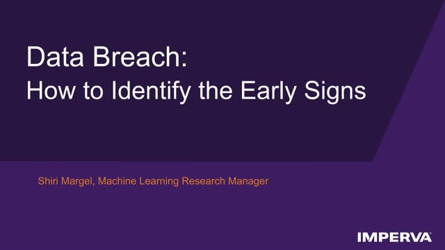 Data Breach: How to Identify the Early Signs