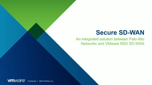 Elevate Your Network Security with NSX SD-WAN and Palo Alto Networks
