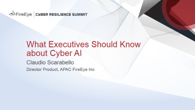 What Executives Should Know about Cyber AI
