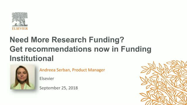 Need More Research Funding? Get recommendations now in Funding Institutional