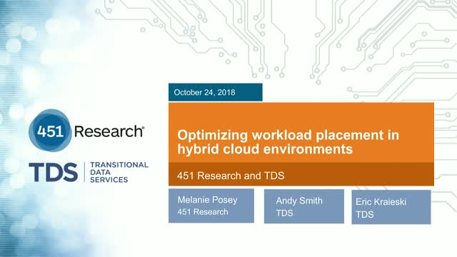 Optimizing workload placement in hybrid cloud environments