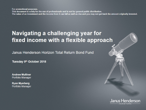 Navigating a challenging year for fixed income with a flexible approach