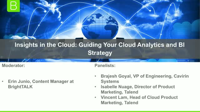 Insights in the Cloud: Guiding Your Cloud Analytics and BI Strategy