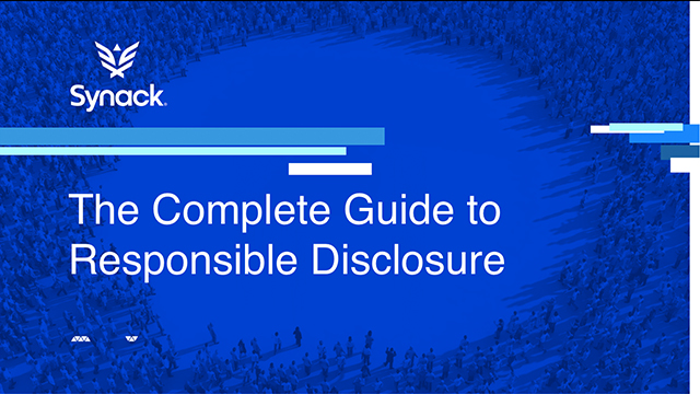 The Complete Guide to Responsible Disclosure Programs