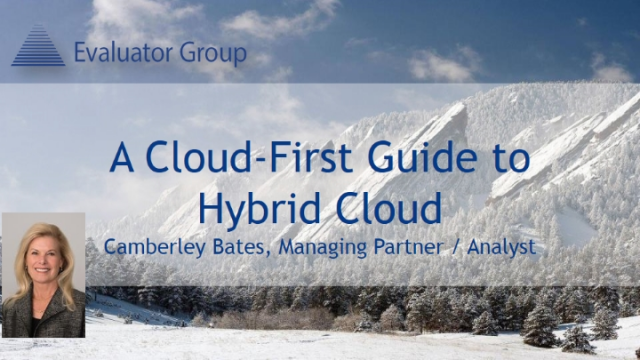 A Cloud-First Guide to Hybrid Cloud Storage