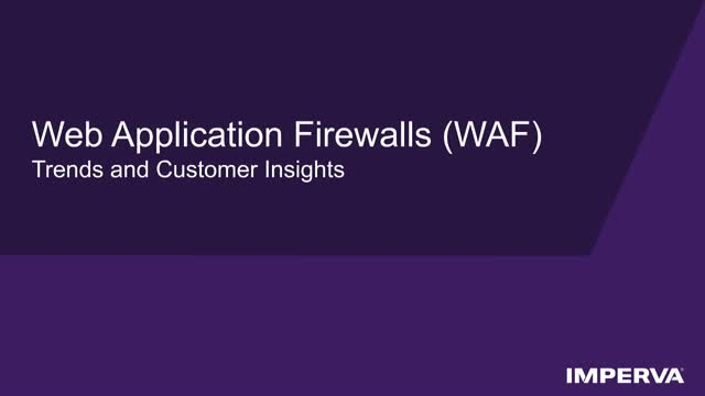 Trends and Challenges in Web Application Firewalls