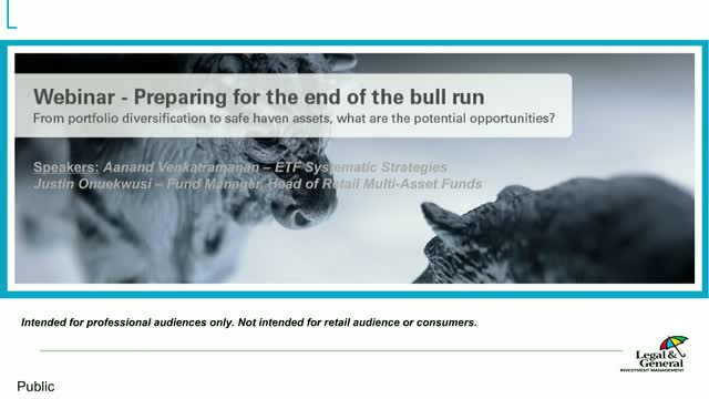 Preparing for the end of the bull run