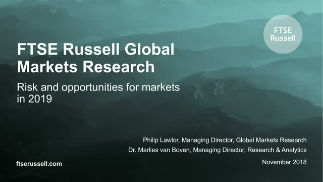 What are the risks and opportunities for markets in 2019?