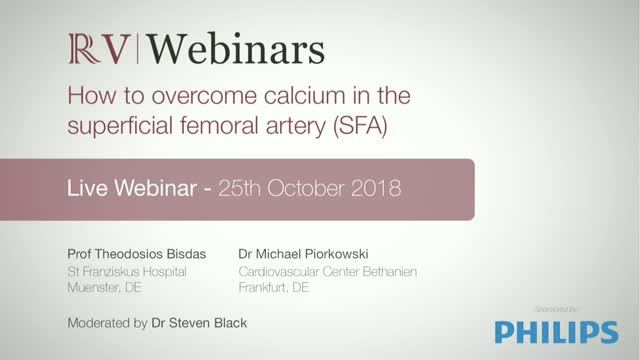 How to overcome calcium in the superficial femoral artery (SFA)