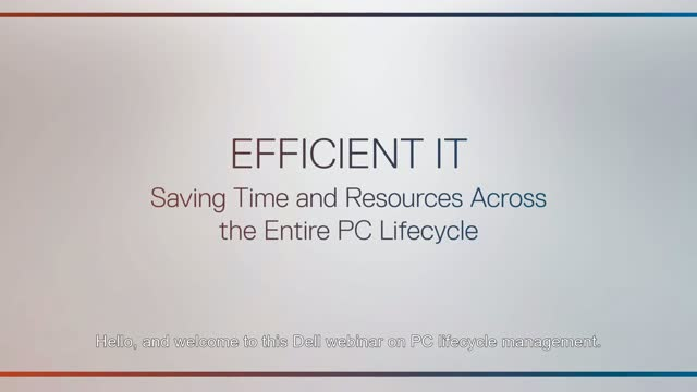 PC Lifecycle Management
