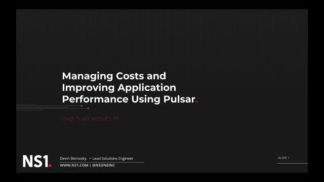 Managing Costs and Getting Better Application Performance from CDNs Using Pulsar
