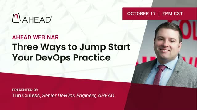 Three Ways to Jump Start Your DevOps Practice in a Cloud-First World
