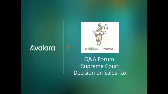 Q&A Forum: Tax Experts Explain Supreme Court Decision on Nexus