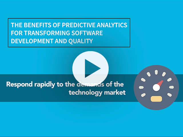 The Benefits of Predictive Analytics for Transforming Software Quality