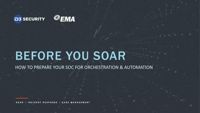 How to Prepare Your SOC for Cyber Security Orchestration