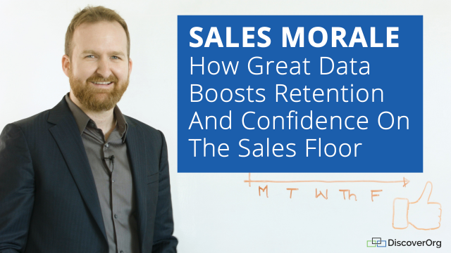 Sales Morale: How Great Data Boosts Retention And Confidence On The Sales Floor