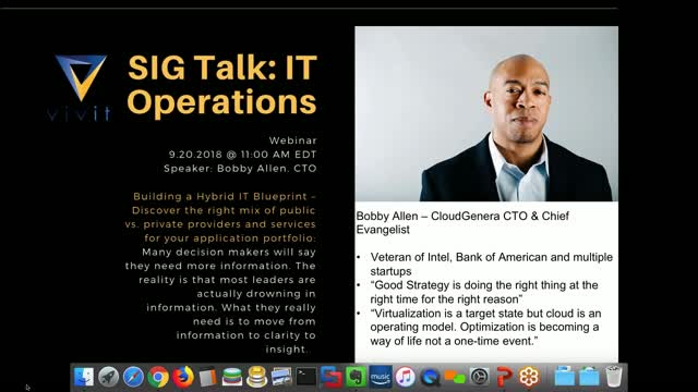 IT Ops SIG Talk Ep. 9:  Work with OpsBridge API's