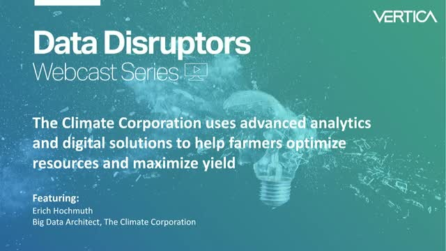 Using advanced analytics to help farmers optimize resources and maximize yield
