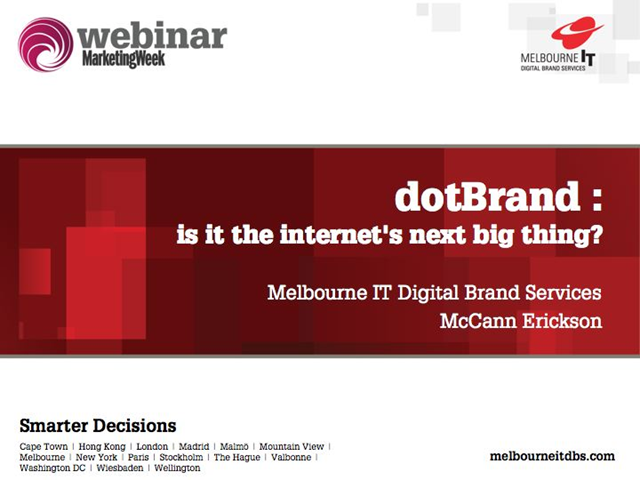 dotBrand - Why some feel it is the internet's next big thing?