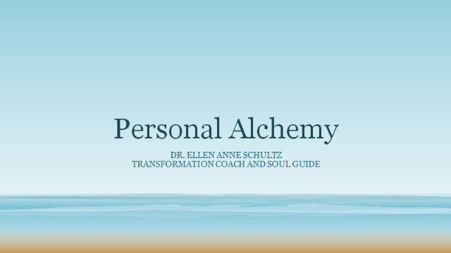 Personal Alchemy: Transform personal pain into opportunities for healing