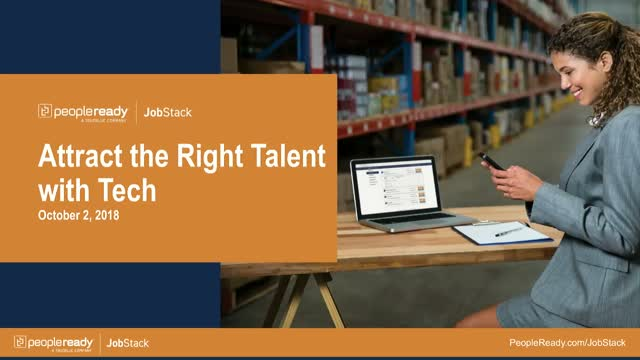 Attract the Right Talent with Tech