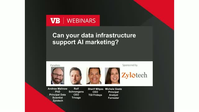 Can your data infrastructure support AI marketing?