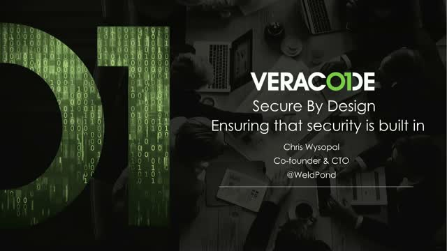 Secure By Design: Ensuring That Security Is Built In