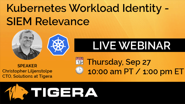 Kubernetes Workload Identity - SIEM Relevance