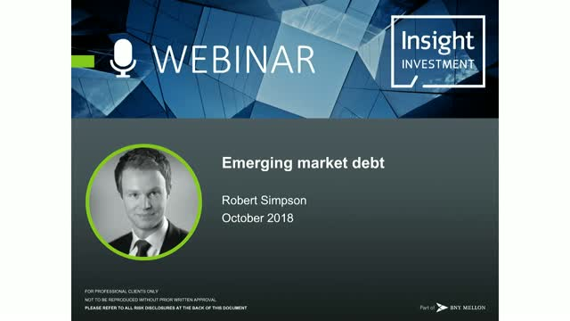 Emerging Market Review and Outlook | October 2018