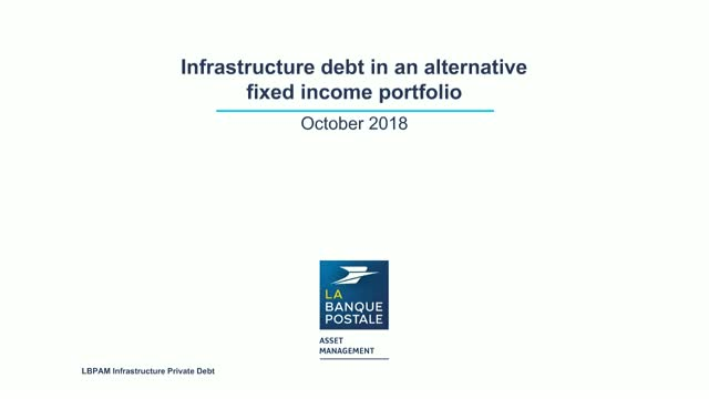 The potential of infrastructure debt in an alternative fixed income portfolio