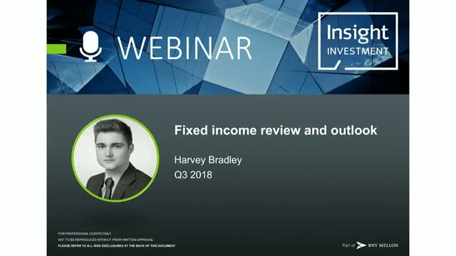 Fixed Income Review and Outlook | October 2018
