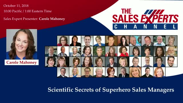 Scientific Secrets of Superhero Sales Managers