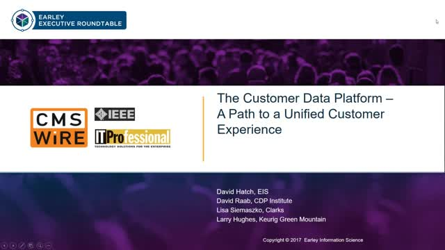 The Customer Data Platform – A Path to a Unified Customer Experience