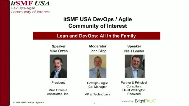 Lean and DevOps: All in the Family