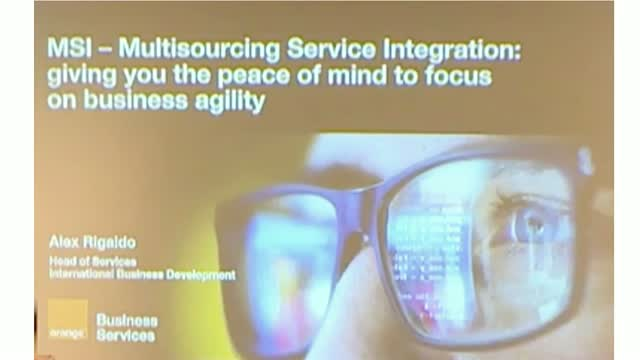 Multisourcing Service Integration  - giving you the peace of mind