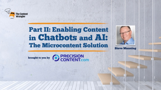 Enabling Content in Chatbots and AI: The Microcontent Solution