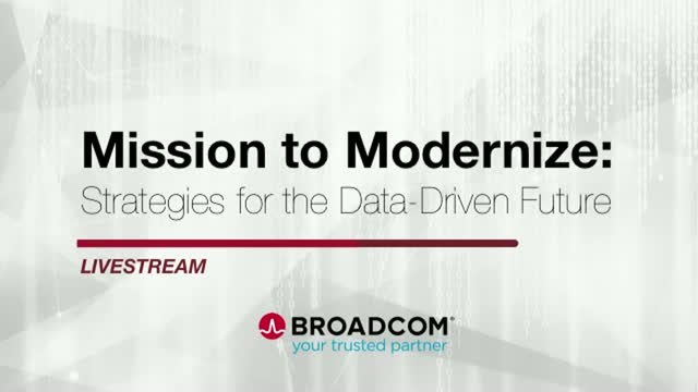 Mission to Modernize: Strategies for the Data-Driven Future, Afternoon