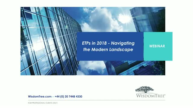 ETPs in 2018 - Navigating the Modern Landscape