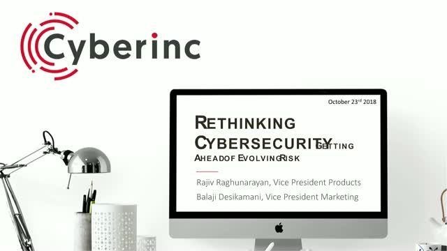 Re-think Cybersecurity: There is more at risk than you think is!