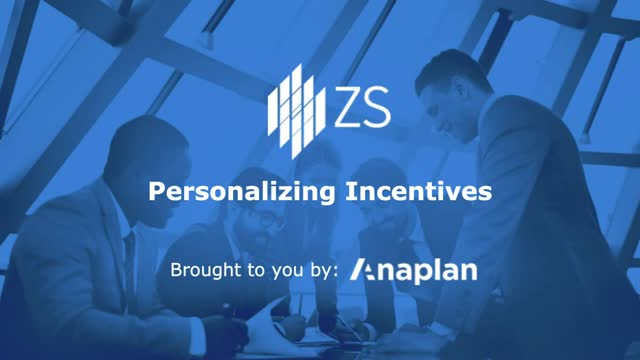 Creating Motivating and Personalized Sales Incentive Plans